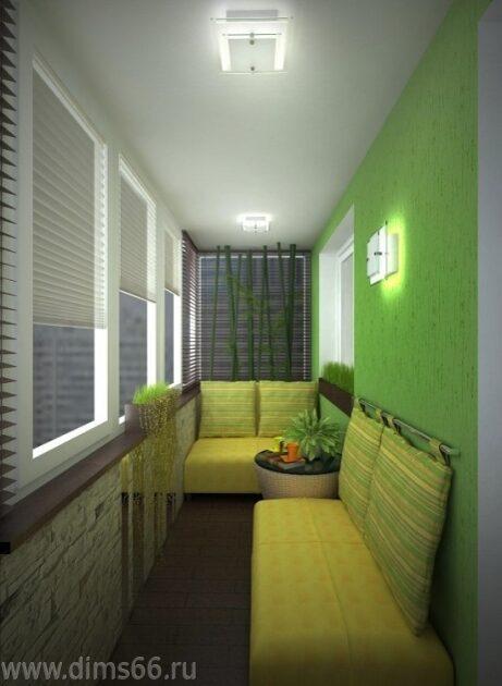 Дизайнерские идеи по теплым балконам